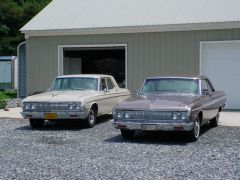 Another pretty pair,  64 Belvedere & 64 Sport Fury