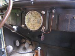 Front Passenger Compartment and Cluster Gauge