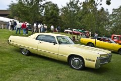 1972 Imperial LeBaron HT - yellow - fvr