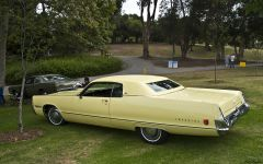 1972 Imperial LeBaron HT - yellow - rvl