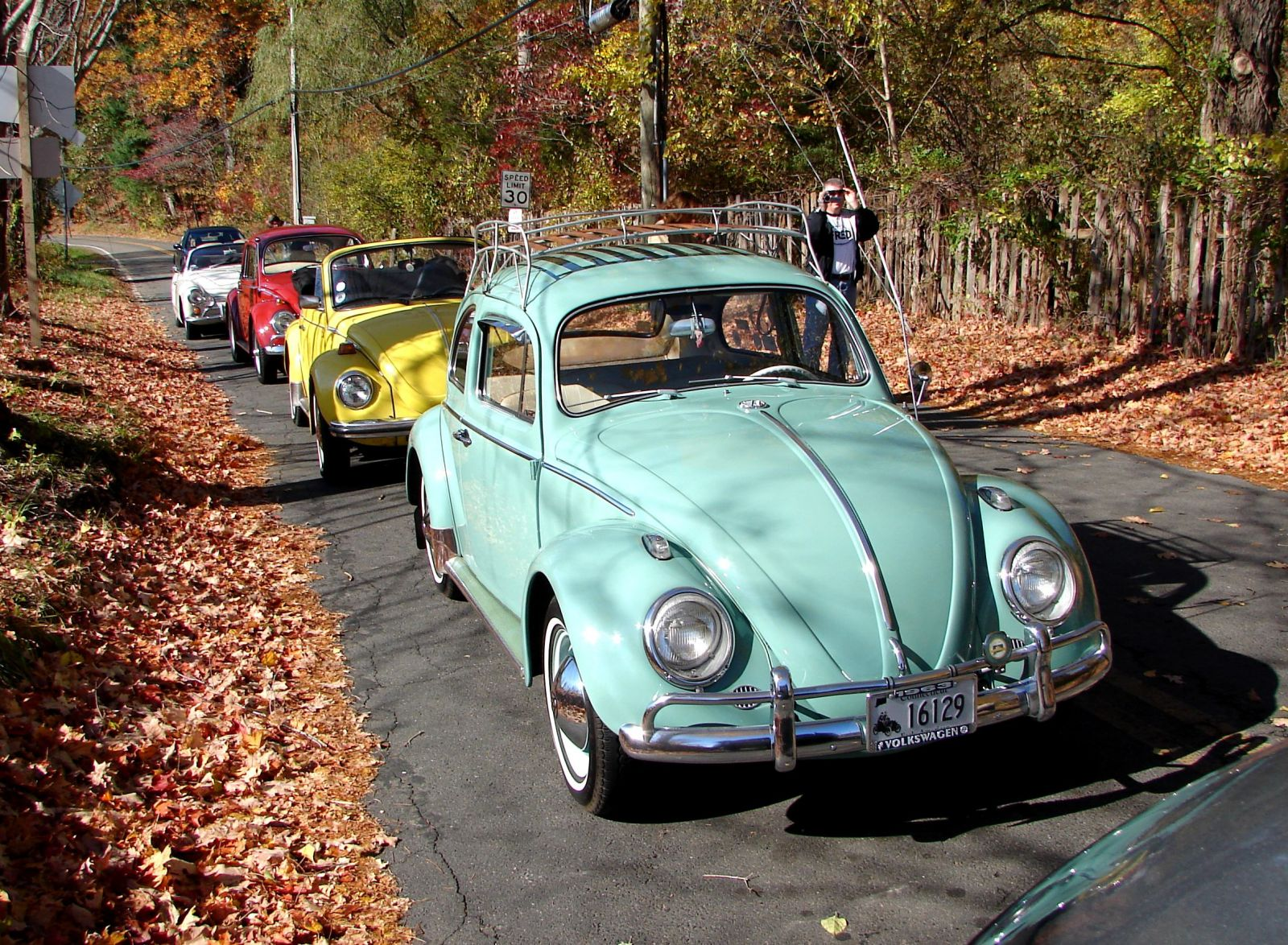 Some 2008 Fall Foliage Volkswagening in Connecticut