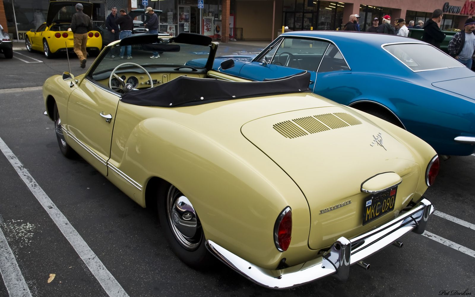 1965 volkswagen karmann ghia convertible castillian yellow rvl other makes and models. Black Bedroom Furniture Sets. Home Design Ideas