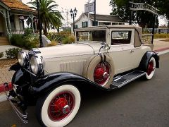 1929 Kissel White Eagle 8-95 Deluxe Coupe Roadster