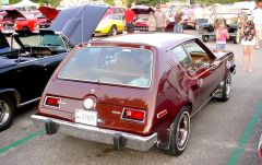 1976 AMC Gremlin seen 7/5/2005 at Chesterfield, CT cruise night