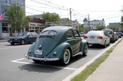 1950 VW back on the road again