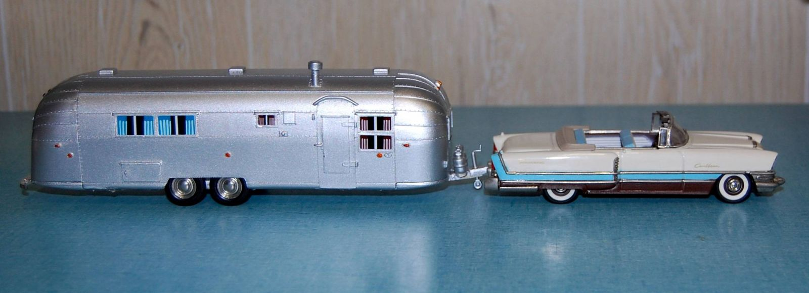 1956 Packard Caribbean & Airstream Models