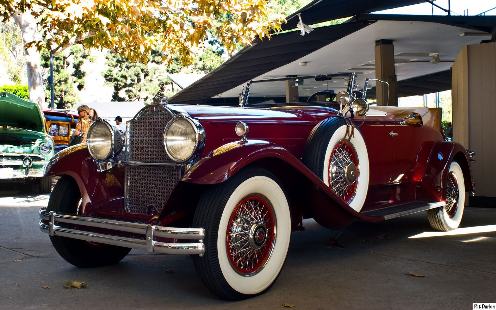 1930 Packard 745 Roadster - fvl
