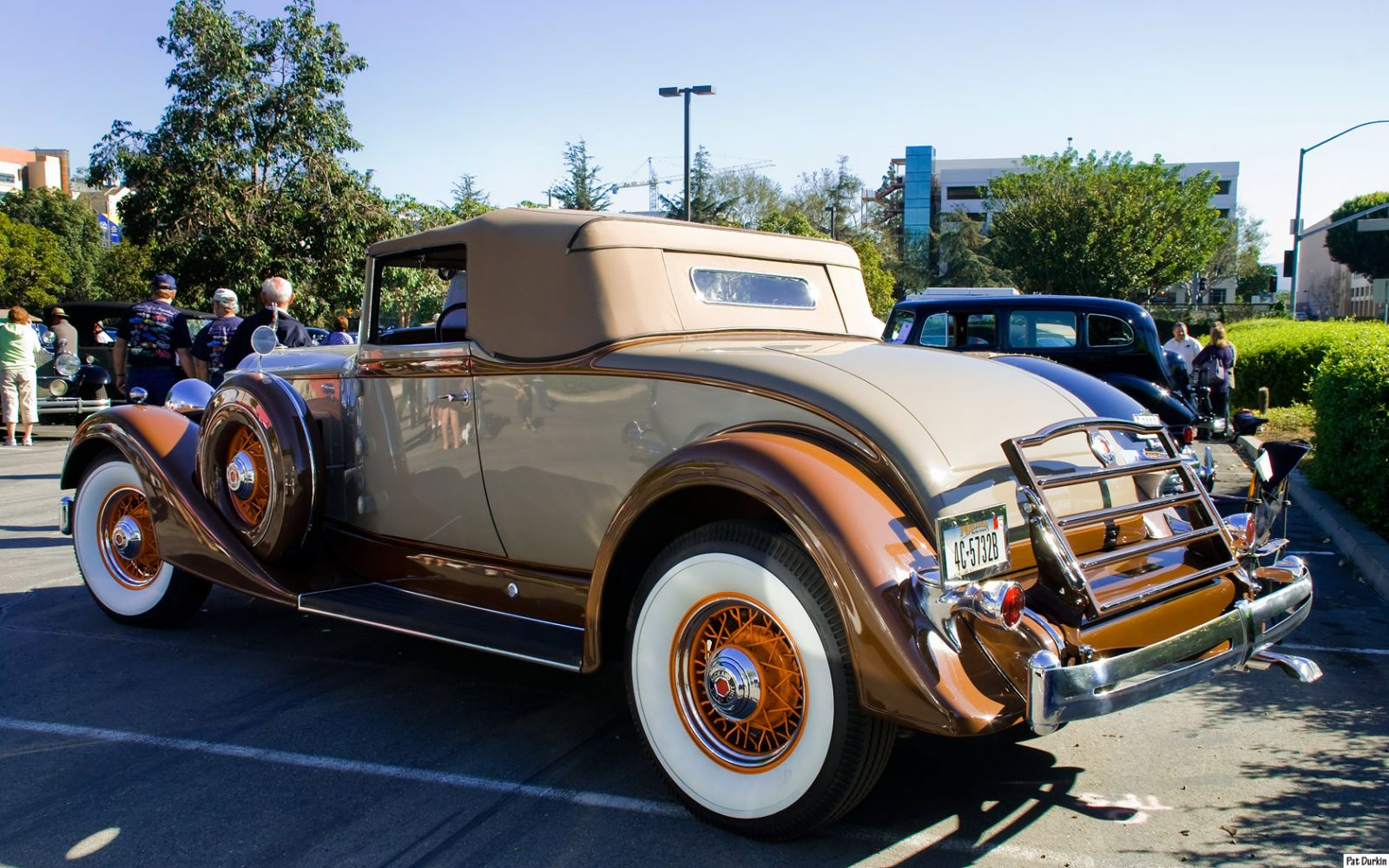 1934 Packard 1104 Super 8 Coupe Roadster - rvl