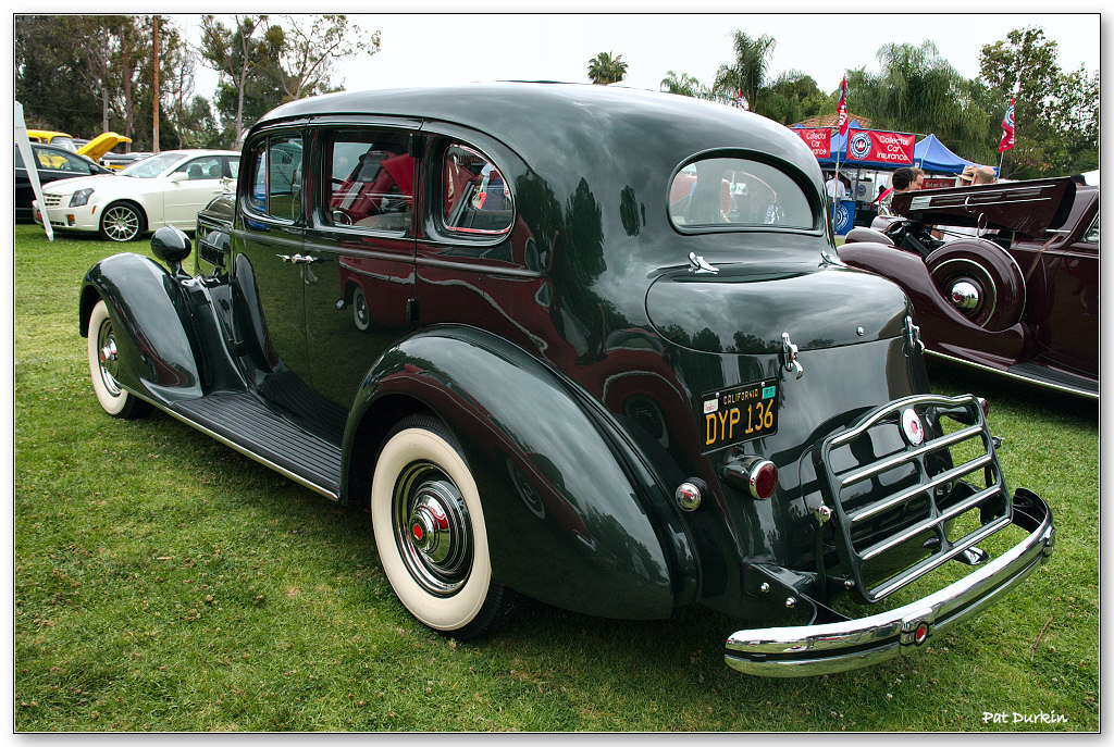1936 Packard 120 Sedan - Thistle Green - rvl