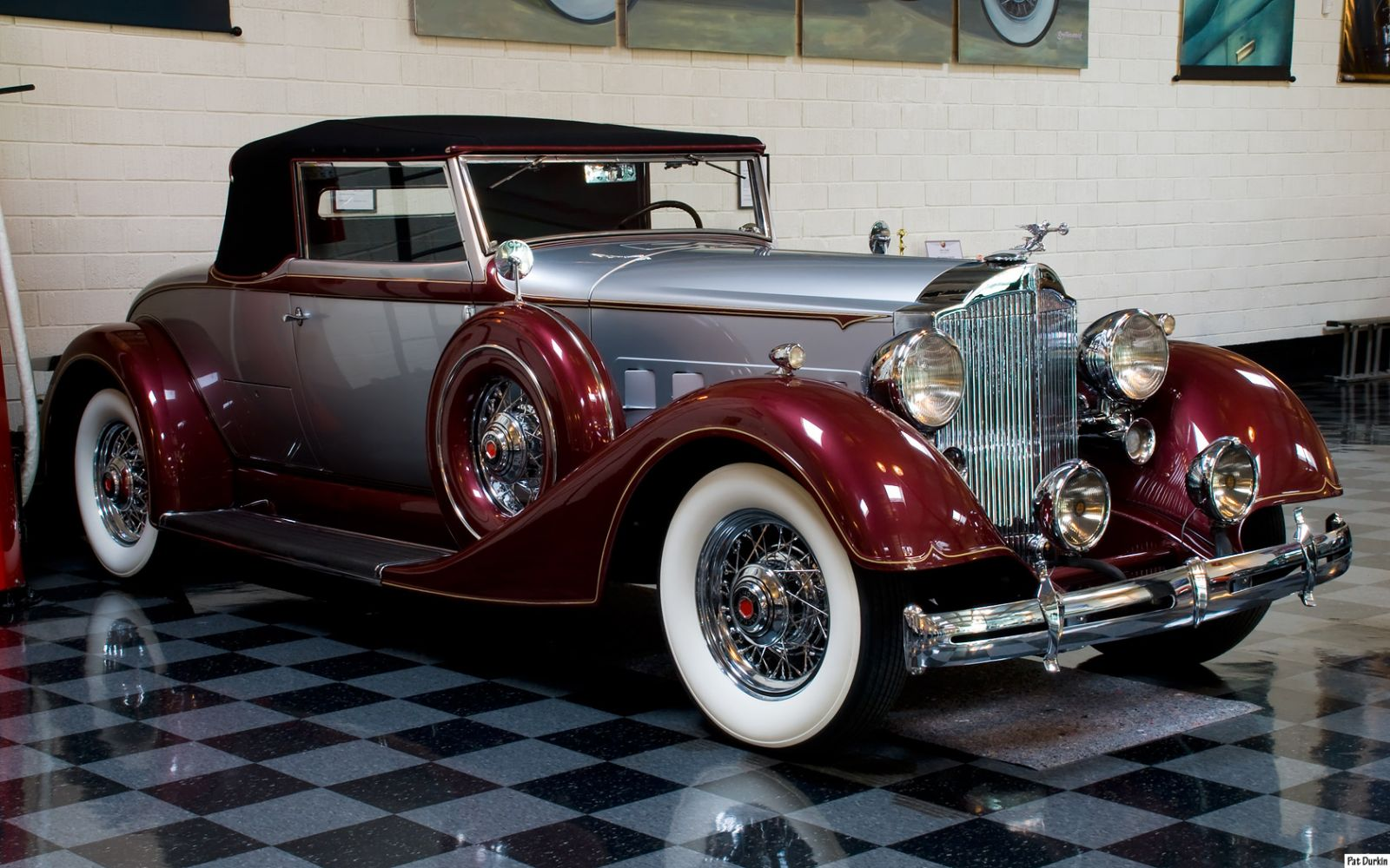 1934 Packard 1101 Convertible Coupe Roadster 2/4 - fvr