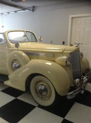 1939 packard selling now $50,000
