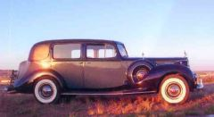 1936 Packard Closed Coupled Sedan