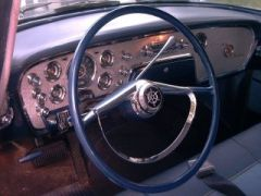 '56 Clipper Dash detail