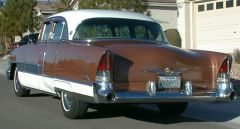 1955 Packard Patrician rear quarter view