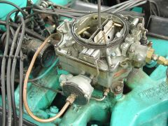 '56 Clipper Custom Carburetor