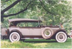 1928 Packard Model 526 Phaeton