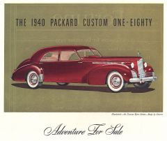 1940 Packard Custom Sport Sedan