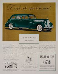 1940 Packard Custom 180  Ad
