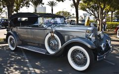 1929 Packard DCP by Dietrich - silver - fvr