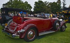 1932 Packard 904 Convertible Roadster - red - rvr