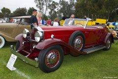 1932 Packard 904 Roadster - red - fvl