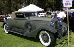 1933 Packard 1004 roadster - gray - fvr 2