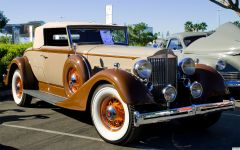 1934 Packard 1104 Super 8 Coupe Roadster - fvr