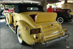 1935 Packard 1207 Convertible Coupe Roadster - yellow - rvl