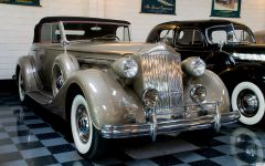 1937 Packard 1507 Convertible Coupe Roadster - fvr