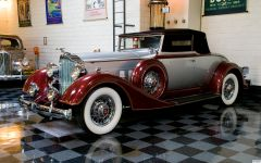 1934 Packard 1101 Convertible Coupe Roadster 2/4 - fvl