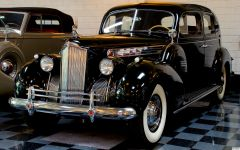 1940 Packard 1806 Club Sedan - black - fvl