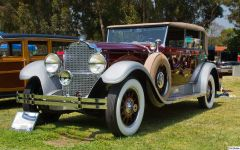 1929 Packard 645 Deluxe 8 Murphy convertible sedan - fvl