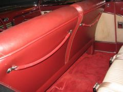 1952 Mayfair Sports Coupe, Red Leather