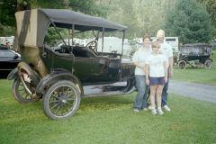 1921 Model T at Keystone Cops MTFCI tour