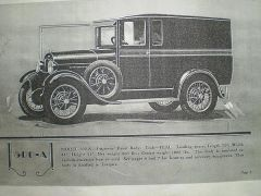 1929 Martin Parry 500A Imperial Panel Truck