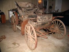 Sears Motor Buggy Before And After