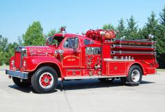 Rockville MD     1963 B-Model Mack Pumper