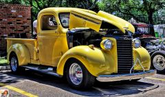 Chevy Yellow PU
