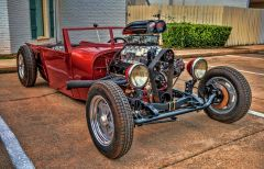 Rat Rod Red