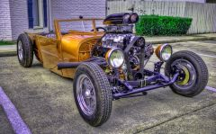 Rat Rod Gold