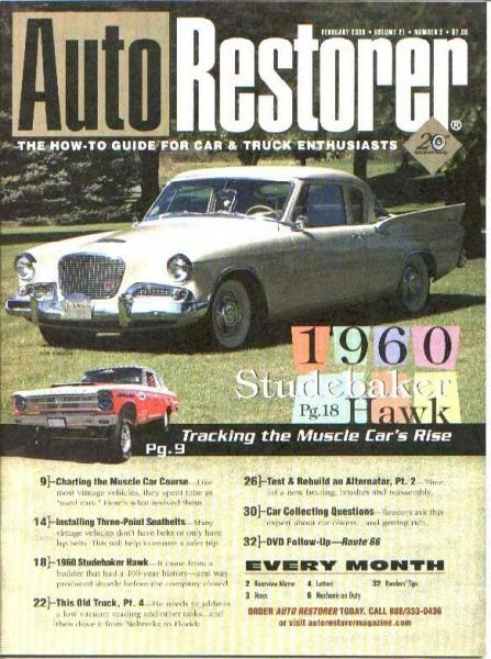 Magazine Cover Car.