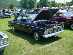 1964 Studebaker Commander at Haddam, CT car show 7/10/2005