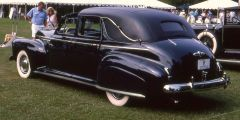41 Buick Brougham Town Car Black