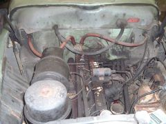 engine Bay As purchased