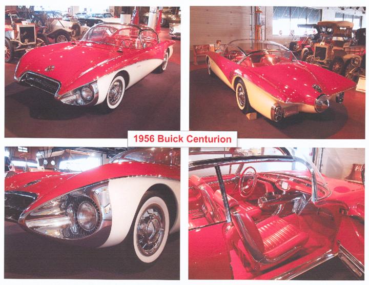1956 Buick Centurion Motorama Car