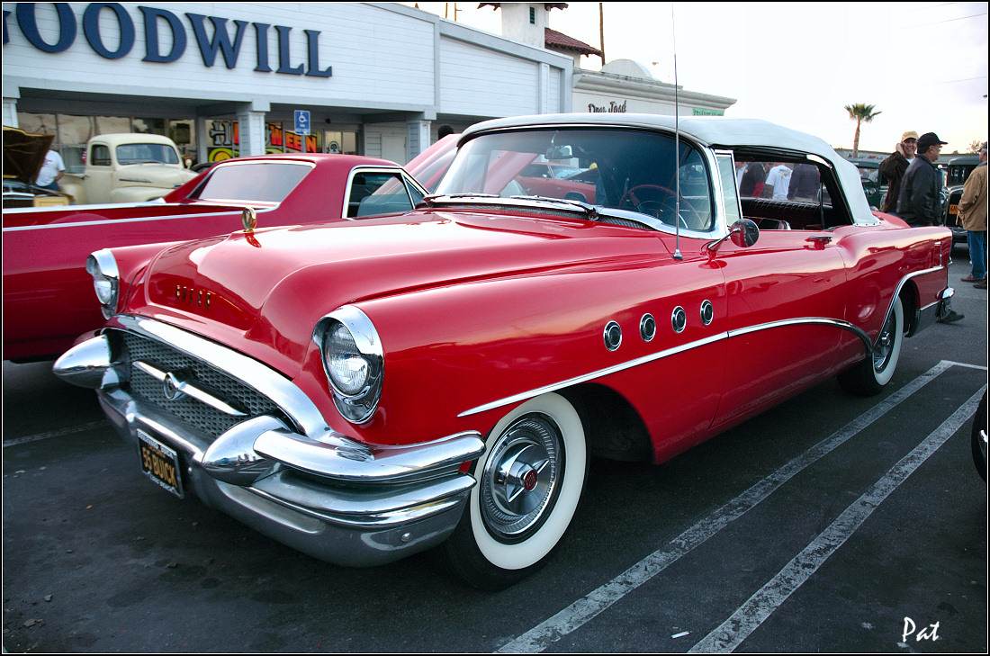 1955 buick roadmaster convertible red fvl general. Black Bedroom Furniture Sets. Home Design Ideas