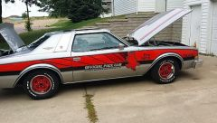 my 1976 Buick century Indy pace car