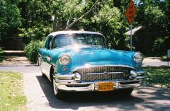 front view 1955 Buick