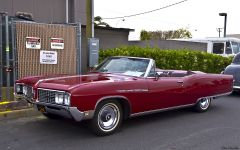 1968 Buick Electra 225 convertible - Scarlet Red Metallic - fvl