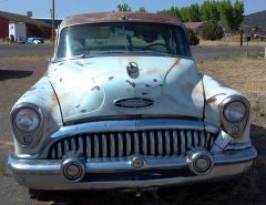 53 Buick Special - Front view